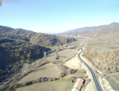 Concluidas las obras de mejora de acceso al municipio de Longás