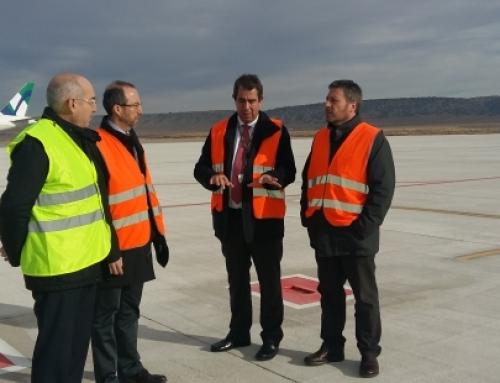 Ideconsa amplía la plataforma de estancias cortas del aeropuerto de Teruel