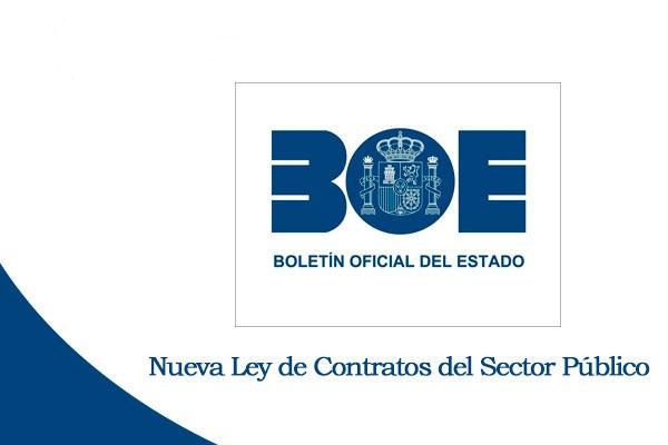 Novedades de la Ley de Contratos del Sector Público