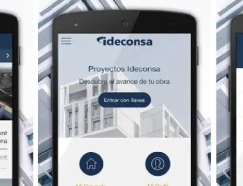 Ideconsa lanza una APP para seguimiento de proyectos